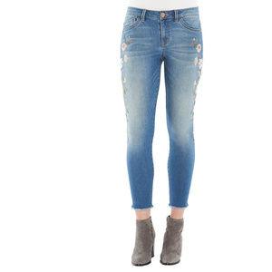 Democracy Seamless Ankle Skimmer jeans. Sz 16 NWT